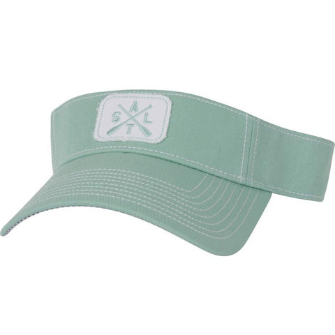 salt life baseball hat visor blue