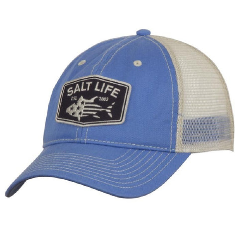 03556a09b1406 Salt Life Youth Red White And Bluefin Hat