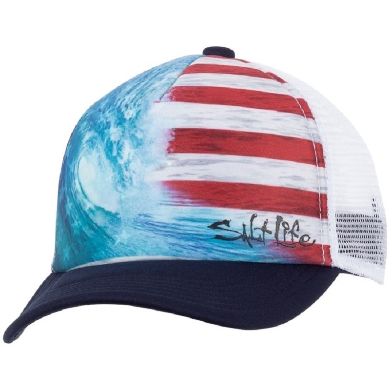 14161f559f1c2 Salt life Youth Ameriseas Trucker Hat