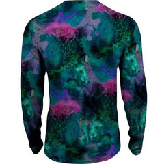 Salt Life Youth Cosmic Reef Performance Long Sleeve Tee