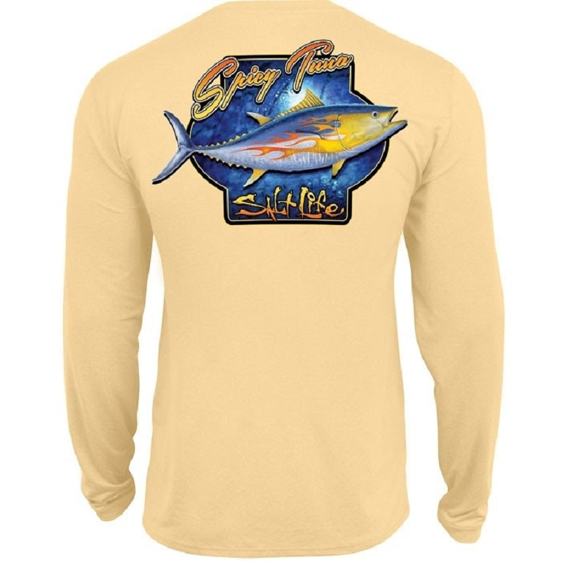Salt Life Youth Spicy Tuna Performance Long Sleeve Tee