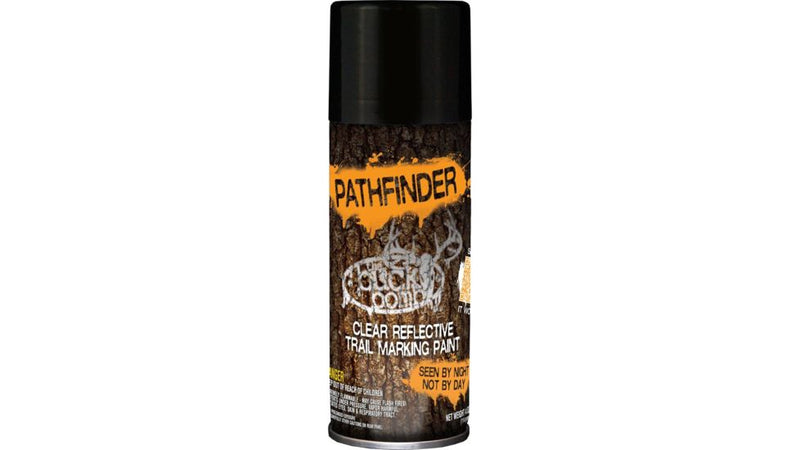 The Buck Bomb Pathfinder Trail Marking Paint 5oz