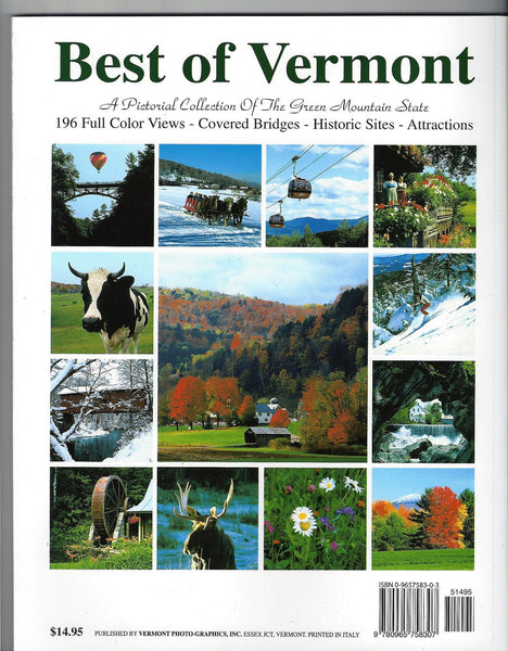 Best of Vermont book
