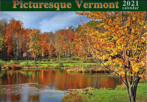 Picturesque Vermont Calendar 2021