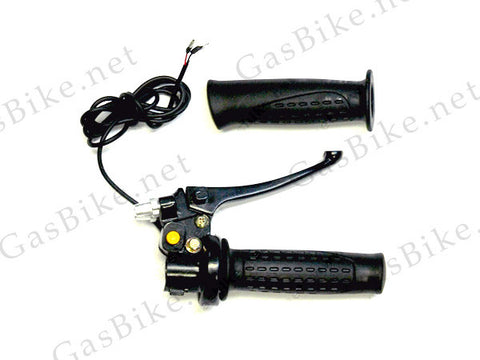 Dual Brake and Throttle Handle 80CC Gas Motorized Bicycle