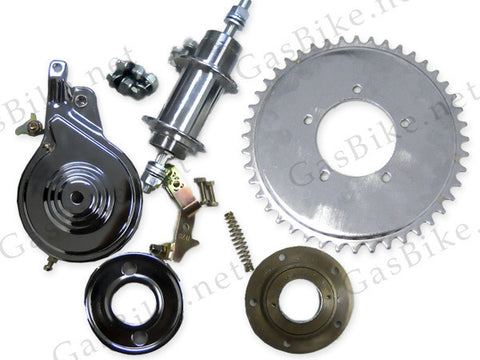 Heavy Duty Axle Kit (Free Wheel, For Pull Start Engines) 80CC Gas Motorized Bicy