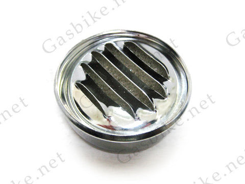 Air Filter, Chrome Finish