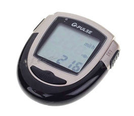 "Wireless Speedometer, 1.5"" LCD, Black"