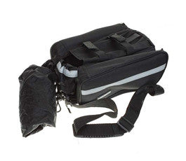 Bicycle Frame Pannier Front Tube Bag, With Waterproof - Rain Cover