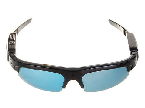 USB Rechargeable Sunglasses with Pinhole AV Recorder Camera (Free Shipping)