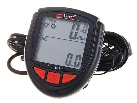 "1.4"" LCD Electronic Bicycle Computer Speedometer"