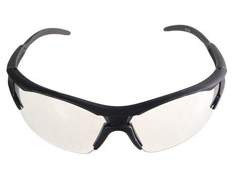 Cycling Bicycle Clear Resin Lens Glasses
