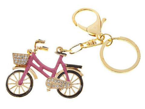 Diamond Bicycle Keychain