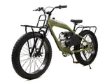 PHATMOTO™ ALL TERRAIN Fat Tire 2021 - 79cc Motorized Bicycle (Matte Army Green)