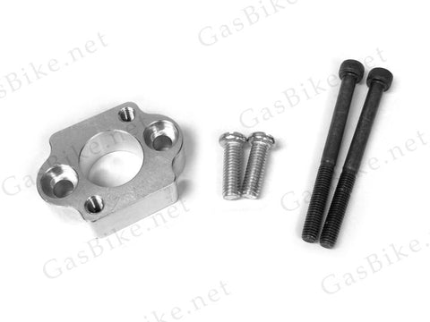 CNC Barrel Adaptor for Walbro Carburators 80CC Gas Motorized Bicycle
