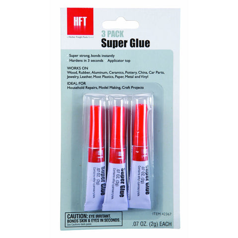 3 Piece Super Glue