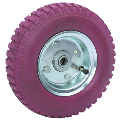 8 in. Non-Marring Rubber Tire with Steel Hub