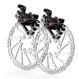 AFTERPARTZ NV-5 G3/ HS1 Bike Disc Brake Kit Front and Rear 160mm Caliper Rotor BB5 BB7 BB-5 BB-7