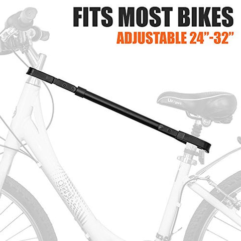BV Bike Rack Adjustable Adapter Bar & Frame Cross-Bar TubeTop ...