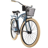 26-inch Huffy Deluxe Men's' Cruiser Bike, Blue