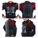 Webetop Adults Dirt Bike Body Chest Spine Protector Armor Vest Protective Gear for Dirtbike Bike Motorcycle Motocross Skiing Snowboarding Black M