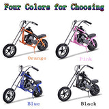 Gas Scooter SAY YEAH Mini Dirt Pit Bike 2 Stroke Kids Mini Chopper,Powerful 49cc EPA Engine Motorized Bike for Boys and Girls,Non California Compliant