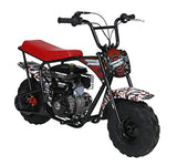 Monster Moto MM-B80-AF American Flag 80CC Youth Mini Bike - American Flag,1 Pack