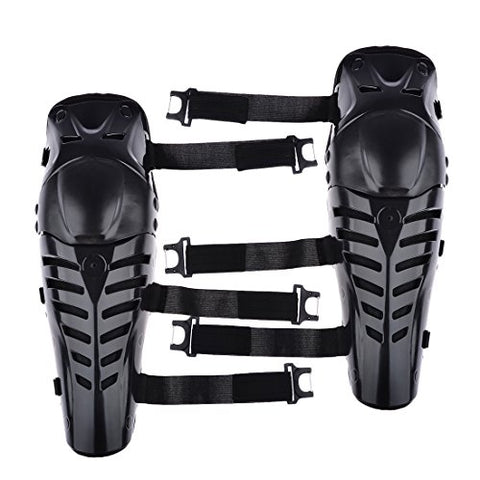 Knee Support Guard Protector Safety Pad for Motorcycle Motobike Motocross Racing Rider Extreme Sports Protective Gear - Black