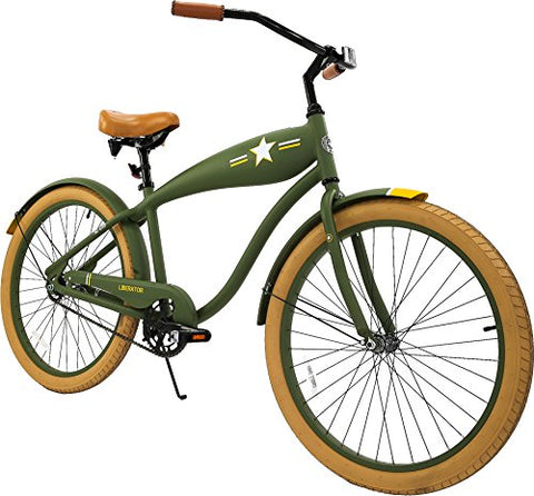 Columbia Liberator 26-Inch Men's Retro Cruiser Bike