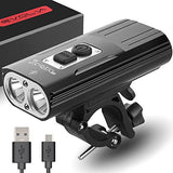 Rechargeable Bike Light Evolva Future Technology 1800 Lumens USB Cree LED Headlight Bicycle Light