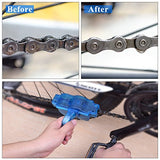 Bike Chain Cleaner, Bbtops Chain Cleaning System Clean Accessories Bicycle Chain Machine Brush Scrubber Bicycle Maintenance Clean Accessories Set - Quick Clean Tool for All Types of Bicycle
