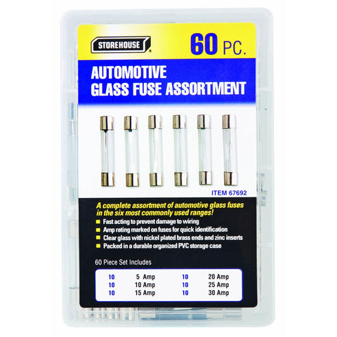AGC Glass Automotive Fuse Set 60 Pc