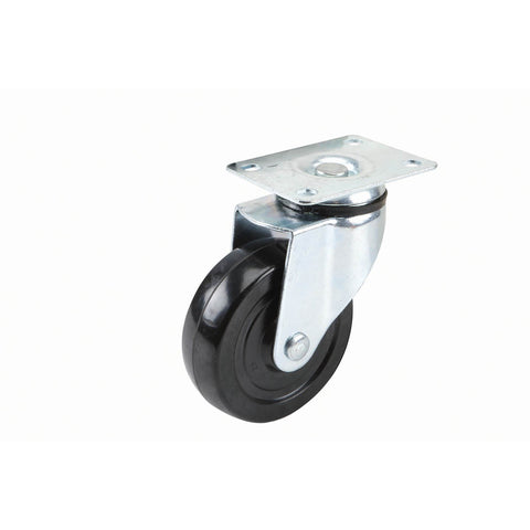 4 in. Rubber Heavy Duty Swivel Caster