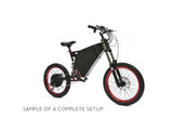 Stealth Bomber Electric Bike Frame