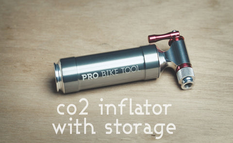 1275e8a29d6 CO2 Inflator with Cartridge Storage Canister by Pro Bike Tool - Quick ...