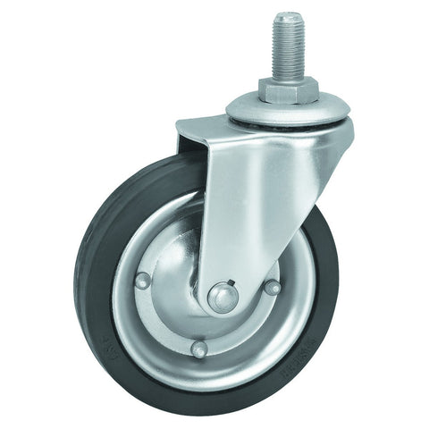 4 in. Hard Rubber Heavy Duty Swivel Caster