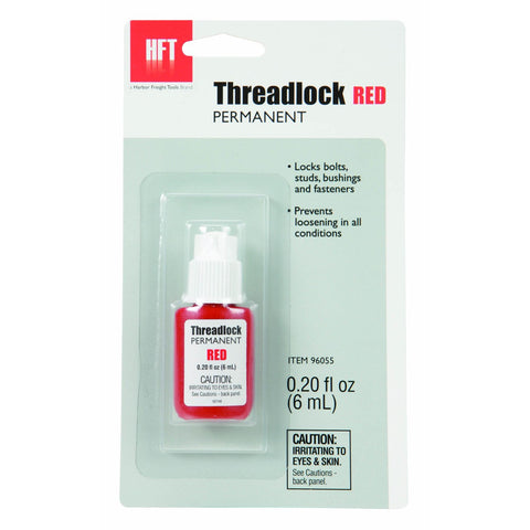 0.20 oz. Permanent Threadlock