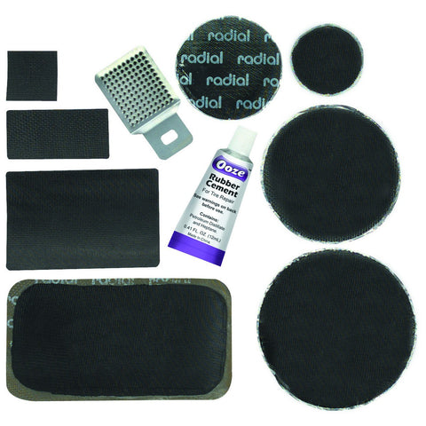 Radial Tire Patch Kit 60 Pc