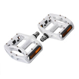 B-910 Mountain Road Bike Pedals - White (Pair) (FSLV)