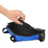 Roswheel Outdoor Triangular Bike Bicycle Tools Bag - Blue + Black