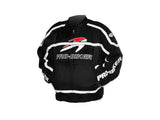 Pro-biker JK-05 Professional Polyester Motorcycle Riding Race Jacket - Black + White