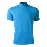 Spakct Bicycling Cycling Polyester Fiber Short Sleeve T Shirt - Blue