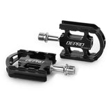 DEPRO Ultra-Light Magnesium Alloy Bicycle Bike Pedals - Black (Pair) (FSLV)