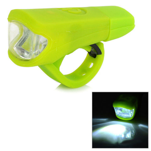 2-Mode White Light Bike Lamp - Green (FSLV)