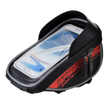 "Basecamp Water Resistant Bike Handlebar Bag for 5.5"" Phones - Black (FSLV)"
