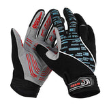 MOke Anti-Shock Touch-Screen Full-Finger Cycling Gloves - Black (FSLV)