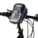"Basecamp Bike Touch Screen Pouch Case Bag for 5.5"" Phones - Blue (FSLV)"