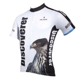 Paladinsport Owl Pattern Short-Sleeve Jersey T-Shirt - White