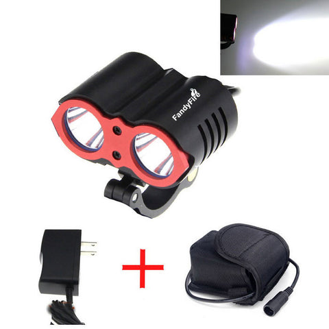 Fandy Fire Super-bright XM-L2 T6 2000lm 3-Mode Bicycle Lamp (FSLV)