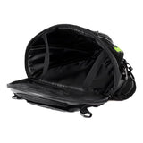 Riding Tribe PU Leather Motorcycle Fuel Tank Backseat Bag - Black